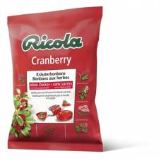 Ricola cranberry herbal sweets without sugar with stevia battalion 125 g