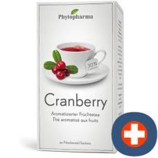 Phytopharma cranberry tea 20 btl