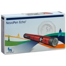 Novopen echo injection device injection device red