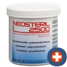 Neosteril 2500 disinfectant professionnelle use ds 100 pcs