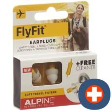 Alpine flyfit earplug pair 1