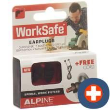 Alpine worksafe earplug pair 1
