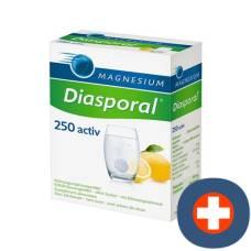 Magnesium diasporal activ brausetabl lemon 20 pcs