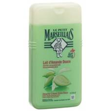 Le petit marseillais shower sweet almond milk 250ml