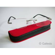 Dv andrea reading glasses 1.00dpt black