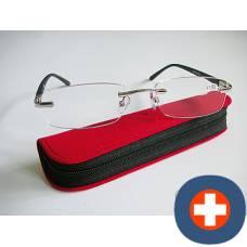 Dv andrea reading glasses 3.00dpt black