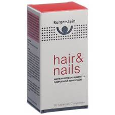 Burgerstein Hair & Nails tablets 90 pcs
