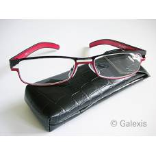 Dv amelie reading glasses 2.50dpt black