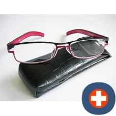 Dv amelie reading glasses 2.00dpt black