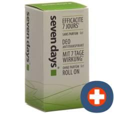 Seven days deodorant antiperspirant roll-on 50ml