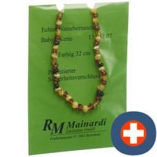 Mainardi natural amber color 32cm safe-misc