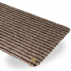 Ha-ra doormat purus soft 90 / 200cm black-brown