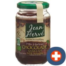 Jean hervé pate chocolat sans lait 350g