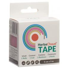 Herbachaud tape 5cmx5m pink