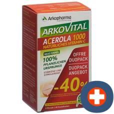 Arkovital acerola arkopharma tablets 1000 mg duo 2 x 30 pcs