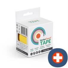 Herbachaud tape 5cmx5m yellow
