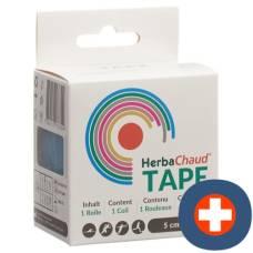 Herbachaud tape 5cmx5m blue