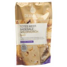 Dermasel bath salts gold rush + 20ml btl 400g