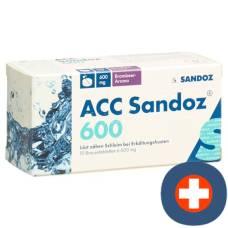 Acc sandoz brausetabl 600 mg blackberry with 10 pcs