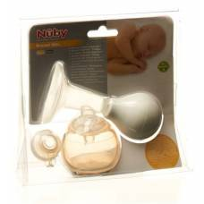 Nuby Natural Touch hand breast pump Compact