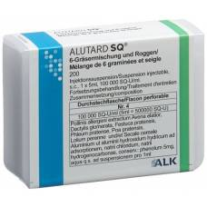 Alutard sq-u 6-grasses mixture + rye inj susp continued treatment durchstf 5 ml