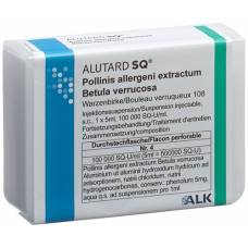 Alutard sq-u betula verrucosa inj susp continued treatment durchstf 5 ml