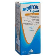 Movicol liquid drinking lös orange fl 500 ml