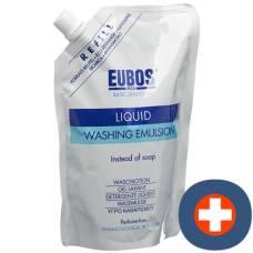 Eubos soap liq unparf blue refill 400 ml