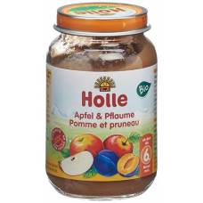 Holle apple & plum demeter bio 190 g