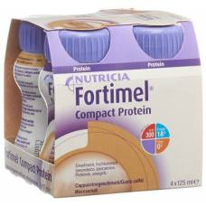 Fortimel compact protein cappuccino 4 fl 125 ml