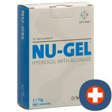 Nu gel hydrogel with alginate 3 x 15 g