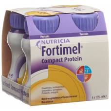 Fortimel compact protein banana 4 fl 125 ml