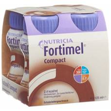 Fortimel compact chocolate 4 fl 125 ml
