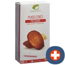 Nature & cie madeleines butter gluten free 6 x 25 g