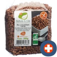 Nature & cie rice crispies choco gluten free 200 g