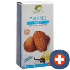 Nature & cie madeleines vanilla gluten free 6 x 25 g