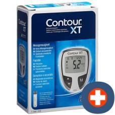 Contour xt blood glucose meter