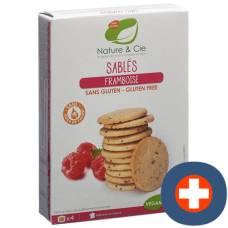 Nature & cie butterkeks raspberry gluten-free 120 g
