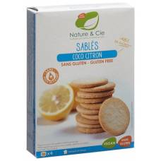 Nature & cie butterkeks koko zitro gluten-free 120 g