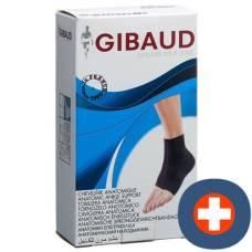 Gibaud ankle bandage anatomically gr2 21-25cm black