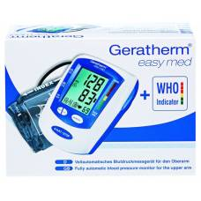 Geratherm blood pressure monitor easy med with who indicator