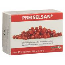 Preiselsan with cranberry extract tablets 90 pcs