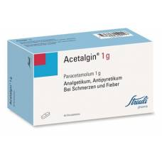 Acetalgin filmtabl 1 g of 40 pcs