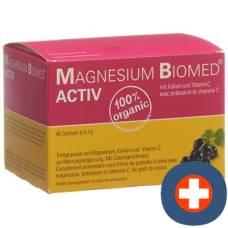 Magnesium biomed activ gran btl 40 pcs