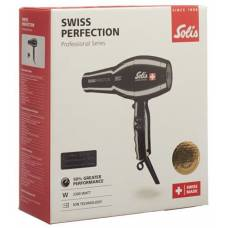 Solis swiss perfect hairdryer type 440 black