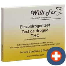 Willi fox drug test thc single urine 5 pcs