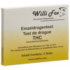 Willi fox drug test thc single urine 3 pcs