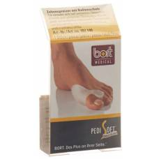Bort pedisoft toe divider with ball protection