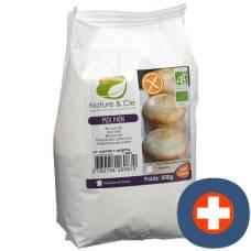 Nature & cie bread mix gluten free 500 g