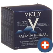 Vichy aqualia thermal spa night german pot 75 ml